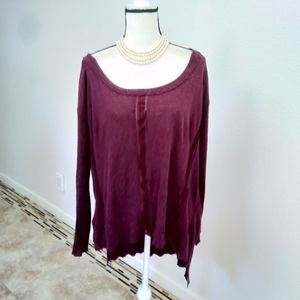 Free people sweater top size medium